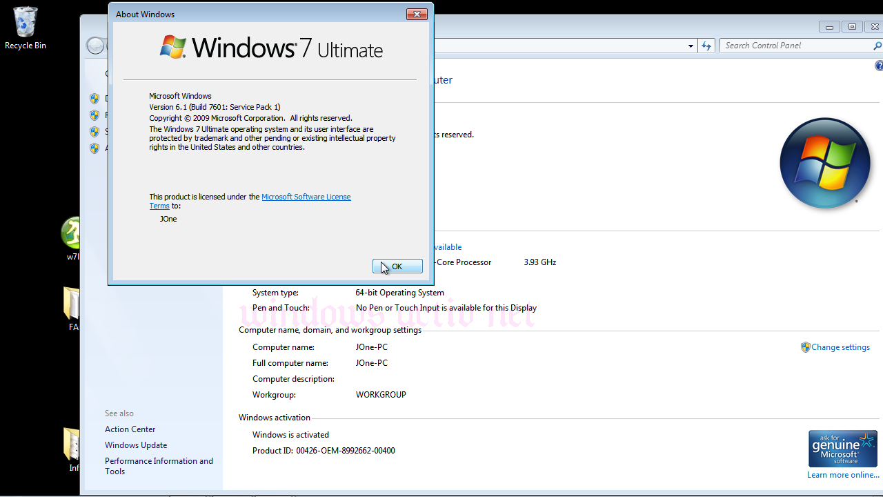 window activation key for window 7 ultimate free download