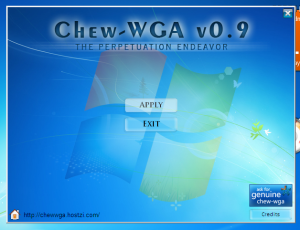 ChewWGA Activator for Windows 7