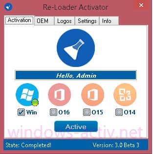 PATCHED Windows 7 Loader Activator V8.0.6 Reloaded April 2018